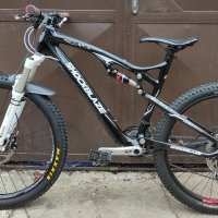 "SHOCKBLAZE EVO RACE CARBON size L 26""/27.5"" 100/130 ход"