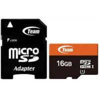 "ФЛАШ КАРТА SD MICRO 16 GB ""TeamGroup"" клас 10 Secure Digital CL10"