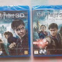 Harry Potter and the Deathly Hallows: Part 1 & 2(2010/2011) 3D (blu-ray disk) х 2 без бг субтитри