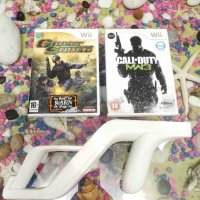 Nintendo Wii/Wii U Call of duty MW3 & Ghost squad & Wii Zapper