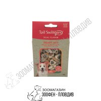 TailSwingers Dual Flavor - Heart/Roll Mix - Salmon/Lamb Rice - 4 вида
