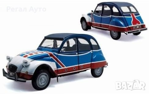 Умaлен модел die-cast Citroen 2CV 6 Basket 1976,1:18, снимка 1