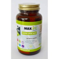 Хранителна добавка Alpha Lipoic Acid + Riboflavin - MAXLIFE Supplements