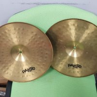 "Paiste 200 Hi-Hat 14"" - фус капаци комплект 14 инчови /Made In Germany/"